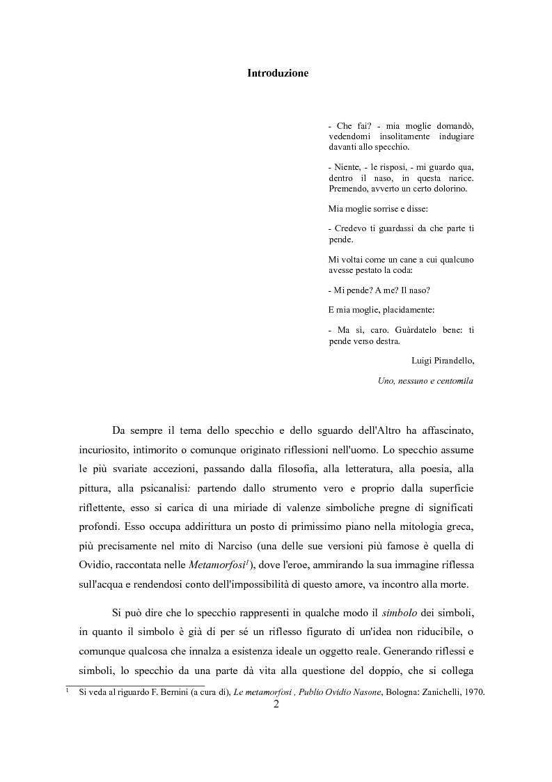 Anteprima della tesi: Sguardo e specchio: visione e identità in Merleau-Ponty, Pagina 2