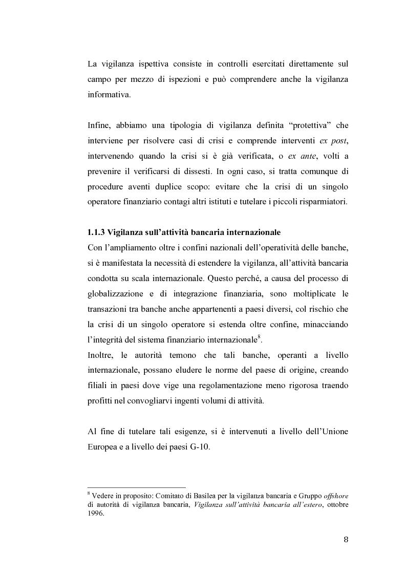Anteprima della tesi: Fallimento Lehman Brothers: Problemi di regolamentazione e gestione bancaria, Pagina 9