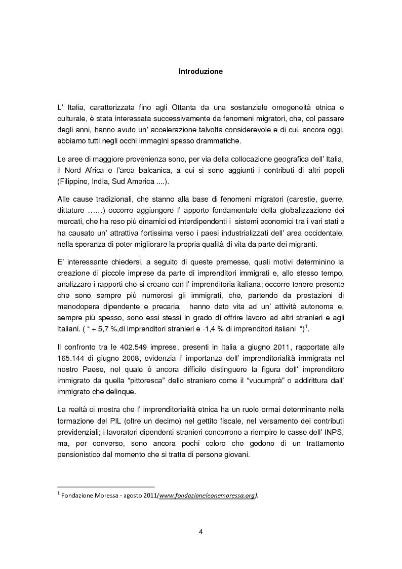 Anteprima della tesi: Imprenditorialità multiculturale e distrettualizzazione: il caso di Prato, Pagina 2