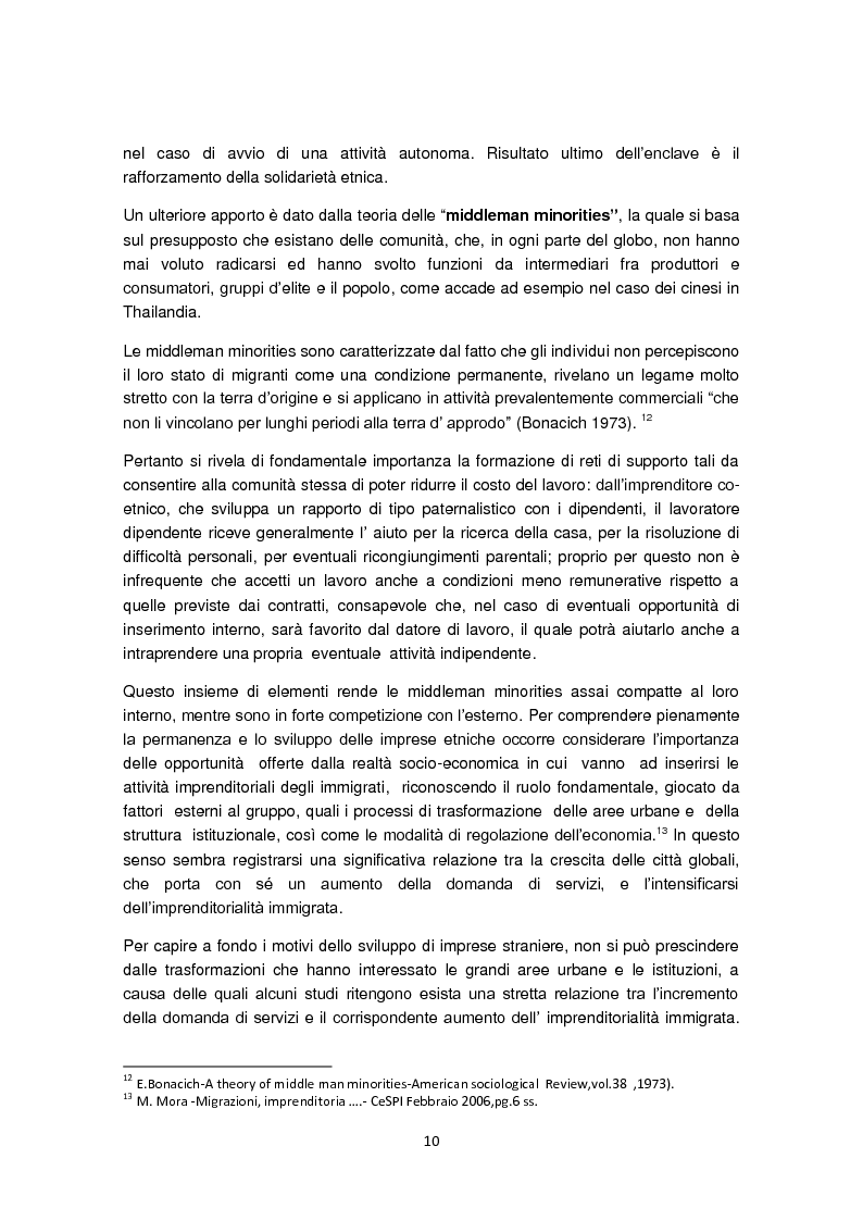 Anteprima della tesi: Imprenditorialità multiculturale e distrettualizzazione: il caso di Prato, Pagina 8
