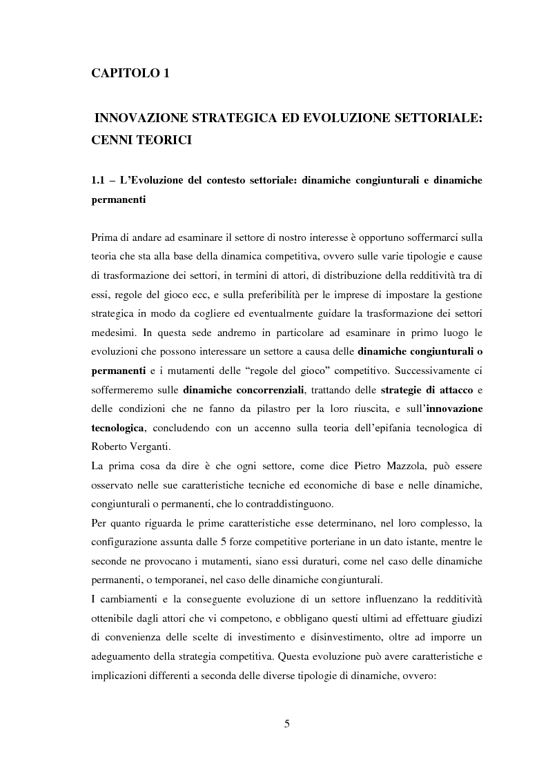 Anteprima della tesi: Dinamiche competitive e innovazioni tecnologiche: il caso delle video game console di 7° generazione, Pagina 3