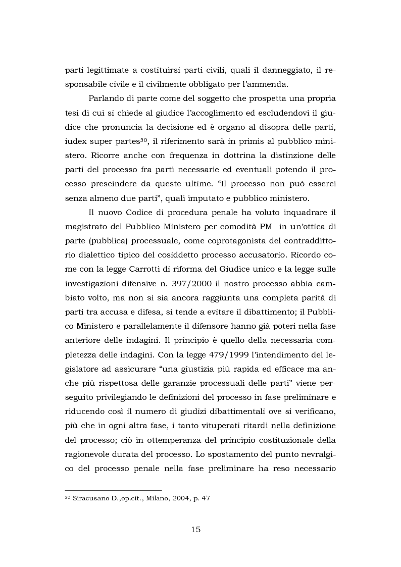 Anteprima della tesi: La testimonianza della parte civile, Pagina 13