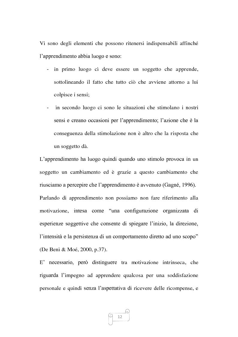 Anteprima della tesi: Dalla trasmissione di informazioni alla costruzione di conoscenza: un review della letteratura, Pagina 12