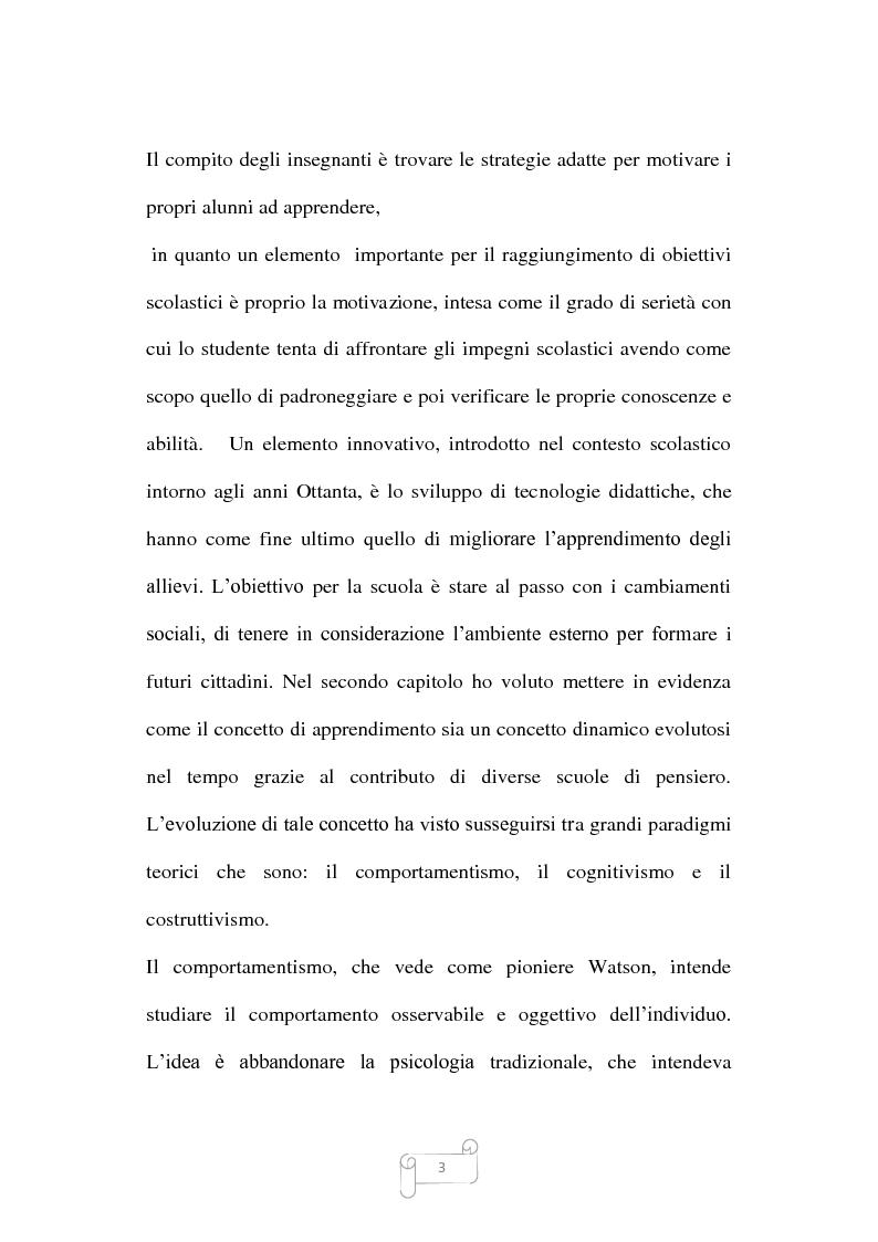 Anteprima della tesi: Dalla trasmissione di informazioni alla costruzione di conoscenza: un review della letteratura, Pagina 3