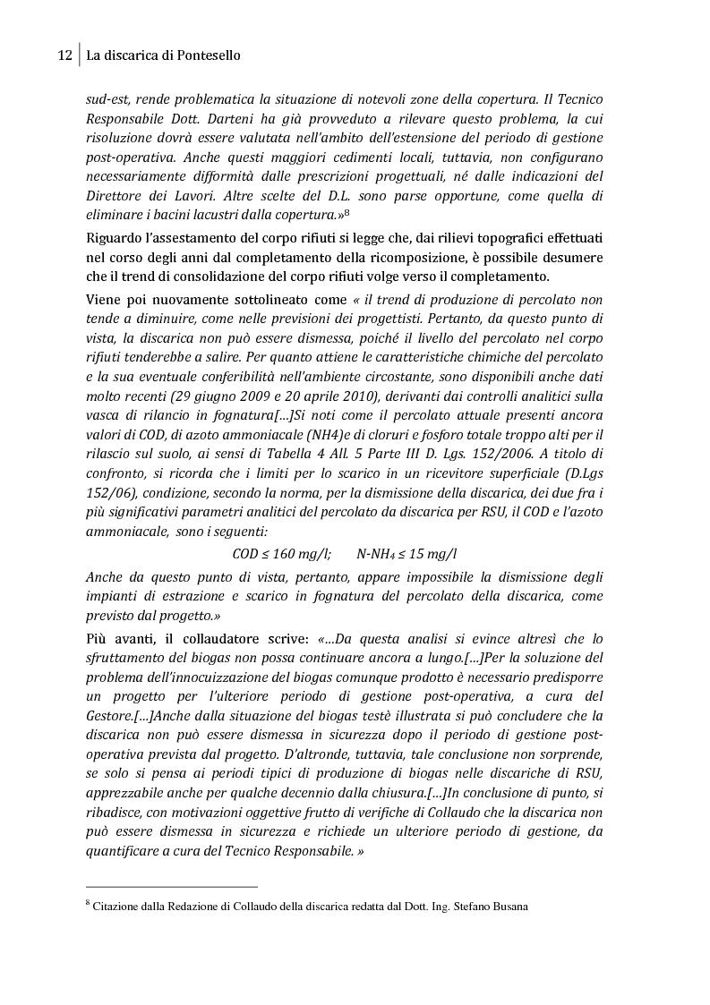 Anteprima della tesi: Sulla possibilità di impiego di pannelli fotovoltaici flessibili sulla copertura di discariche controllate, Pagina 9
