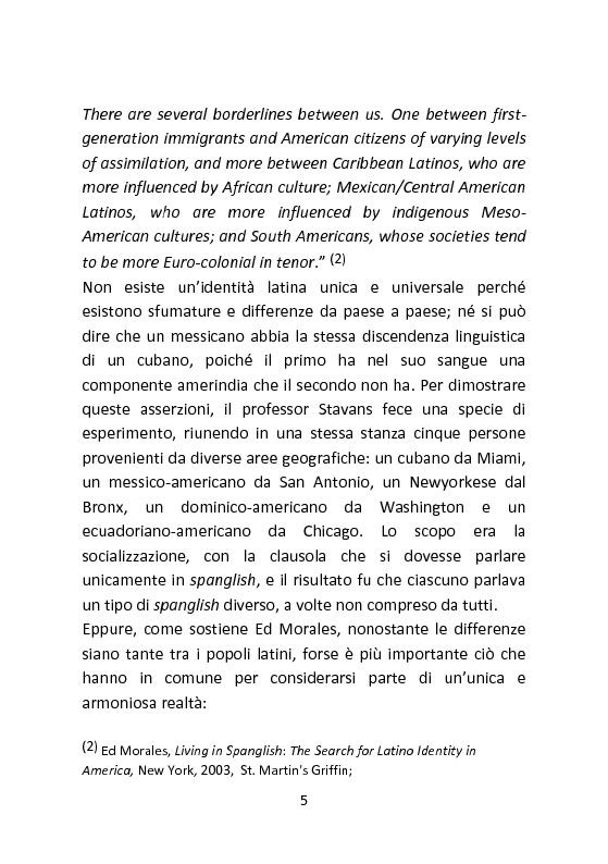 Anteprima della tesi: Spanglish: una lingua per ricreare se stessi. Il caso di Gloria Anzaldua., Pagina 4