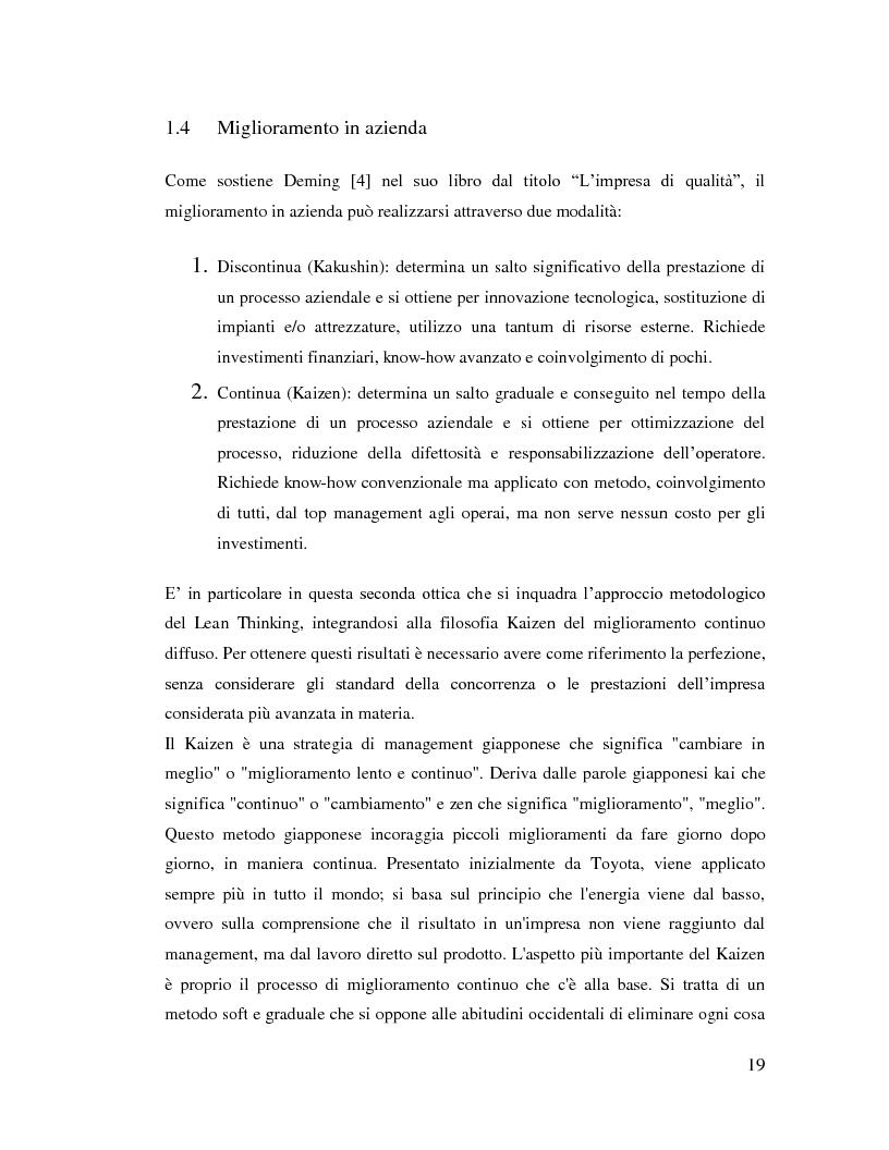 Anteprima della tesi: Lean Manufacturing nel settore manifatturiero: il caso Pramac, Pagina 12