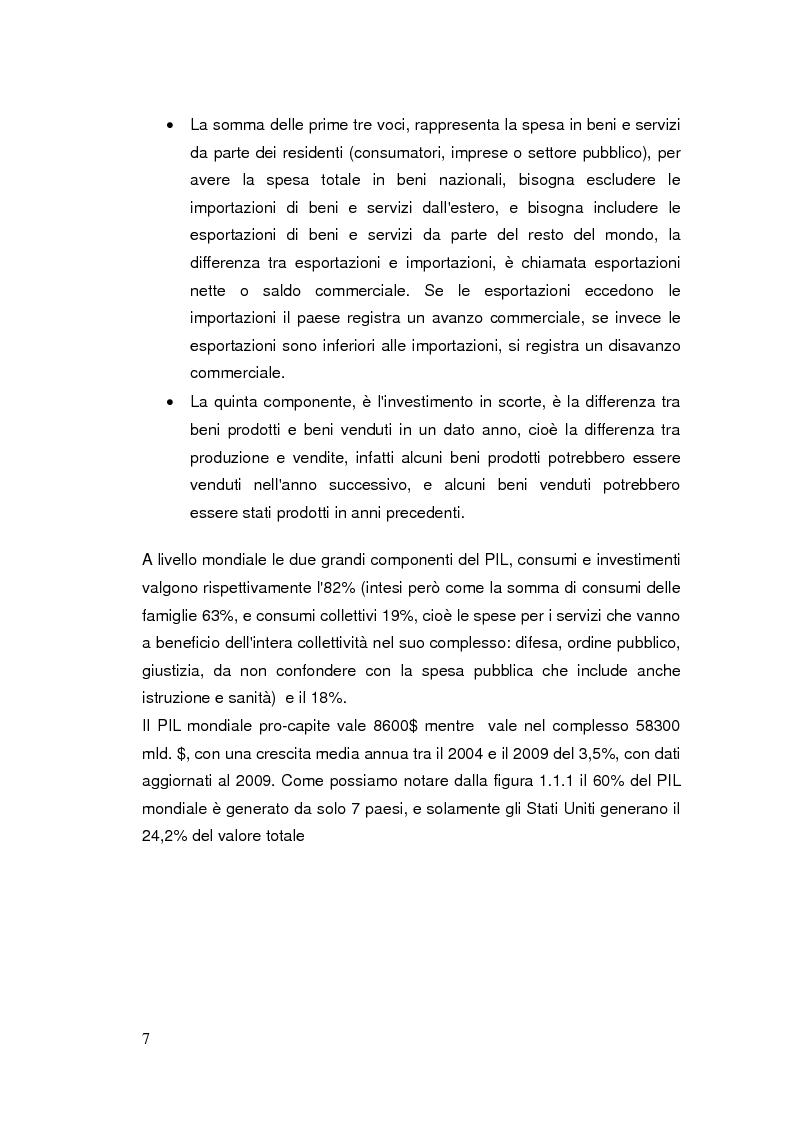 Anteprima della tesi: Limiti del PIL tra sostenibilità e benessere, Pagina 6