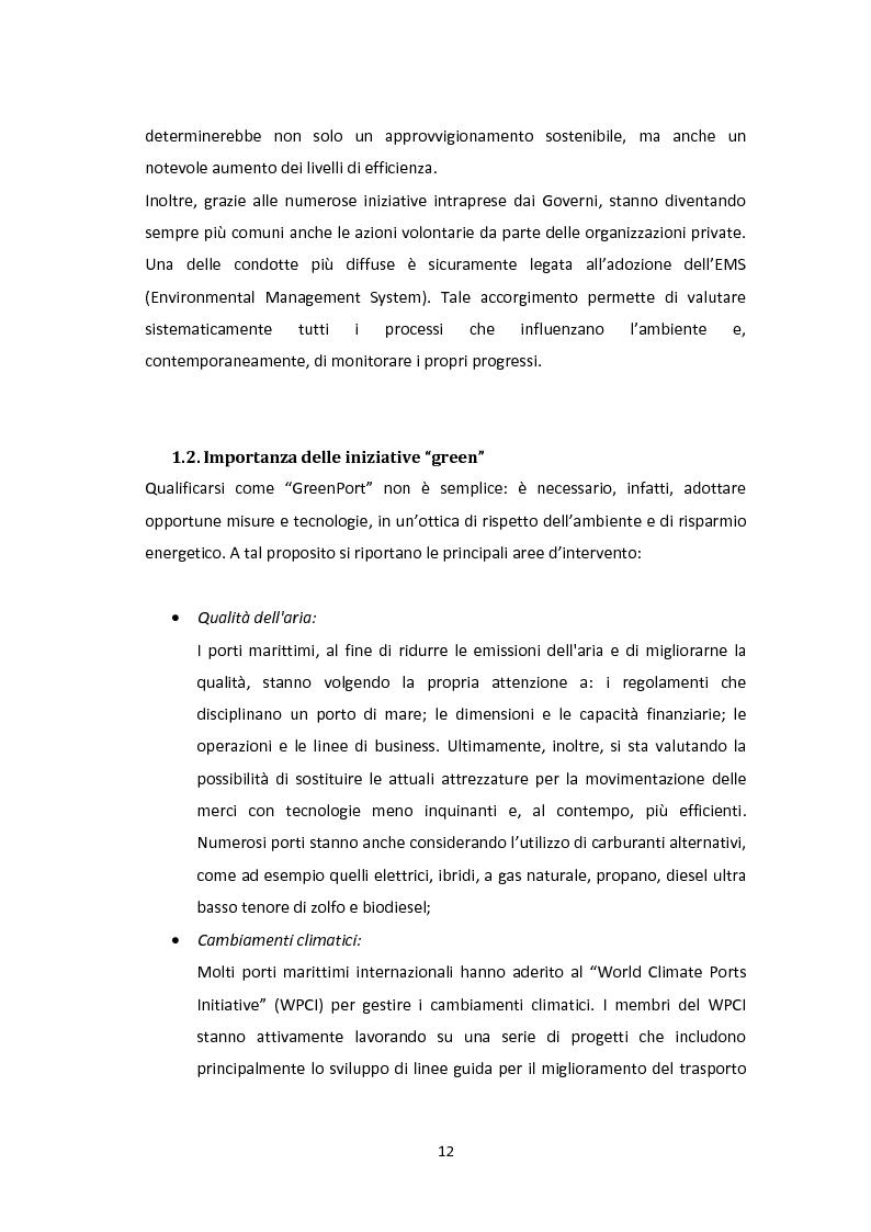 Anteprima della tesi: Modellazione e Simulazione a supporto della Green Logistics nei porti, Pagina 9