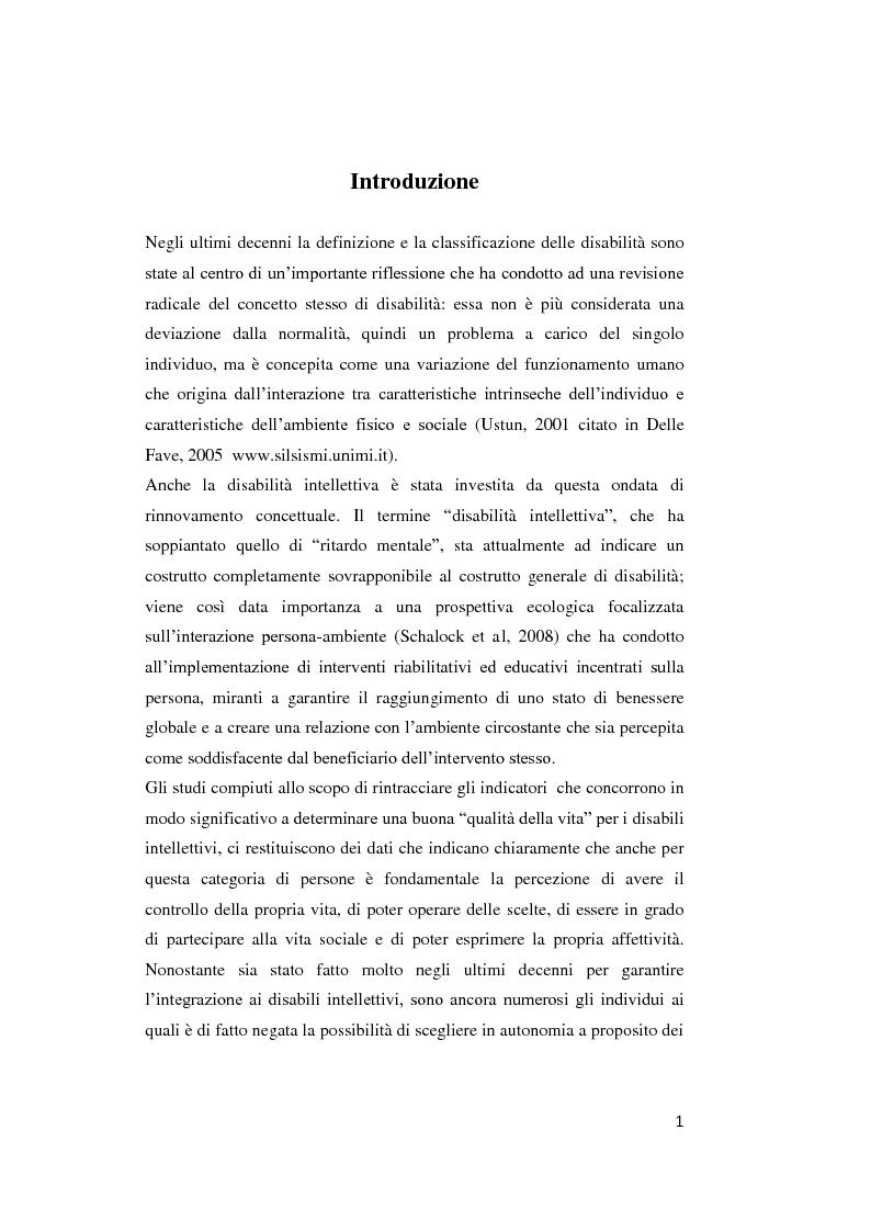 Anteprima della tesi: Il contributo delle strategie di autoregolazione cognitiva in presenza di disabilità intellettiva lieve, Pagina 2