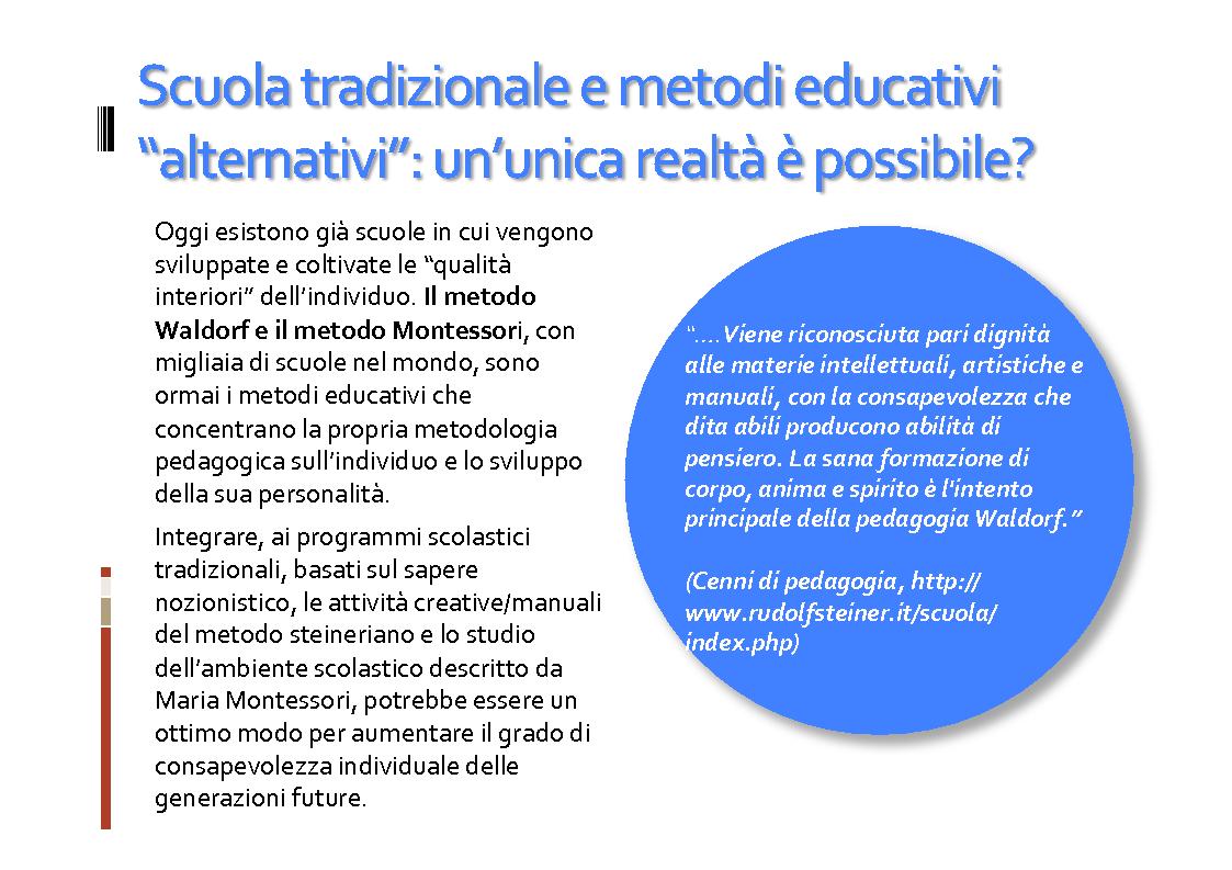 Anteprima della tesi: Il ruolo della consapevolezza nella scuola, Pagina 12
