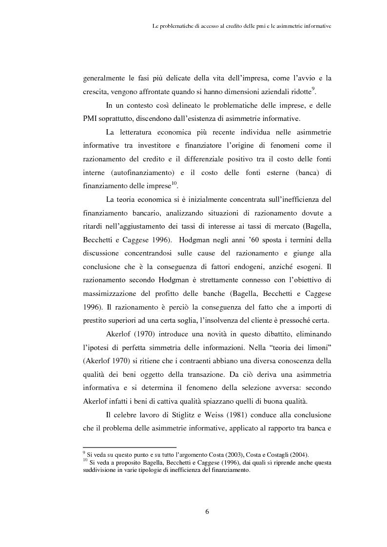 Anteprima della tesi: Opportunità e vincoli per il finanziamento pubblico all'agroindustria in Toscana. Il caso della misura 123a del Piano di Sviluppo Rurale , Pagina 11