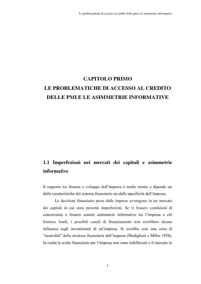 Anteprima della tesi: Opportunità e vincoli per il finanziamento pubblico all'agroindustria in Toscana. Il caso della misura 123a del Piano di Sviluppo Rurale , Pagina 6