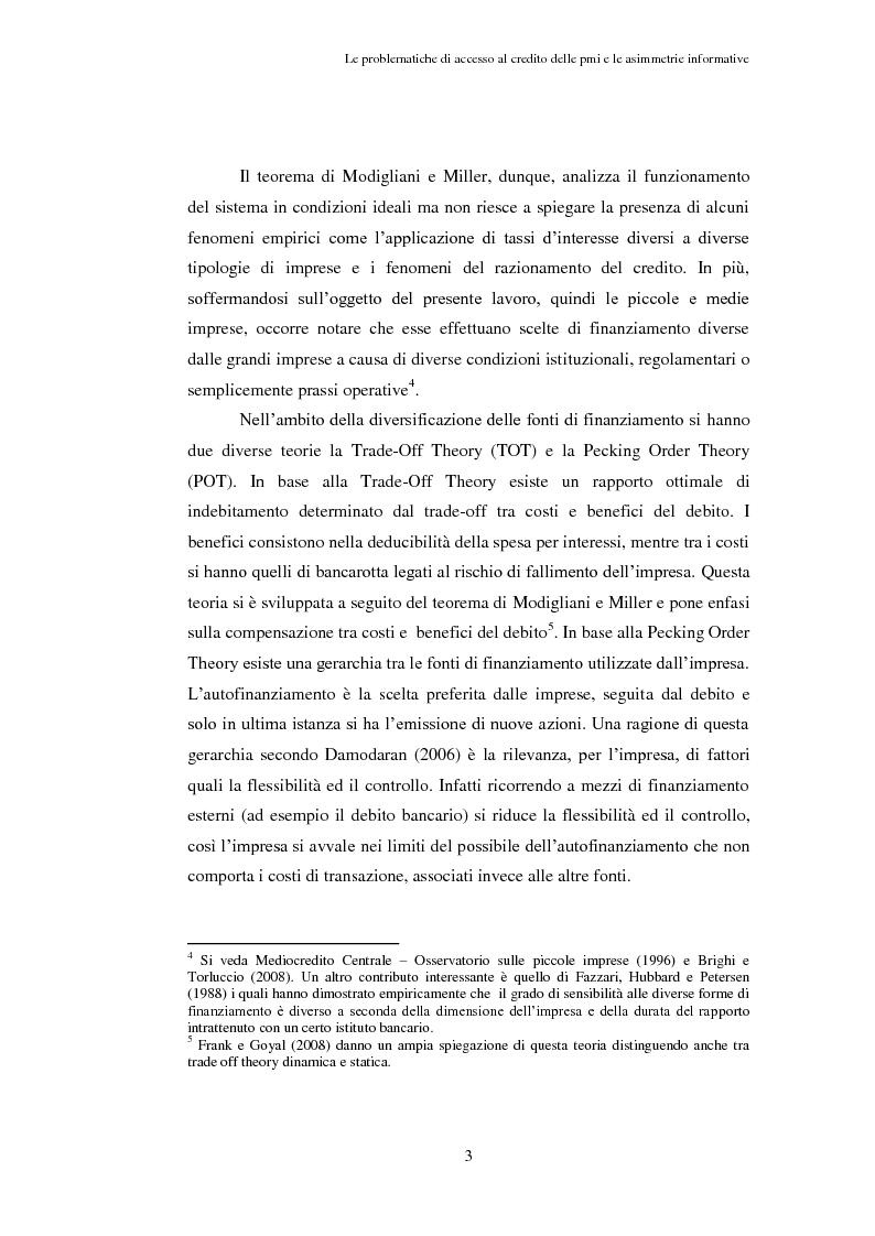 Anteprima della tesi: Opportunità e vincoli per il finanziamento pubblico all'agroindustria in Toscana. Il caso della misura 123a del Piano di Sviluppo Rurale , Pagina 8