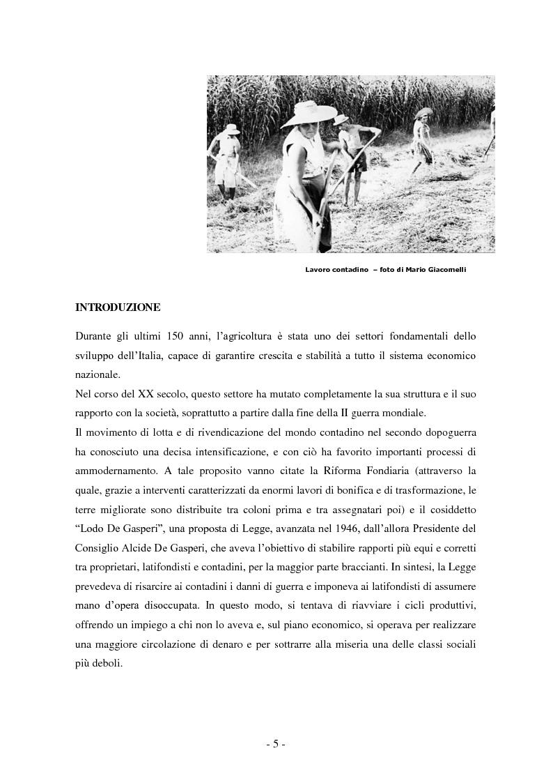 Anteprima della tesi: Le sfide della globalizzazione per i prodotti alimentari di qualità, Pagina 2