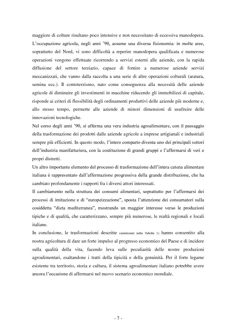 Anteprima della tesi: Le sfide della globalizzazione per i prodotti alimentari di qualità, Pagina 4