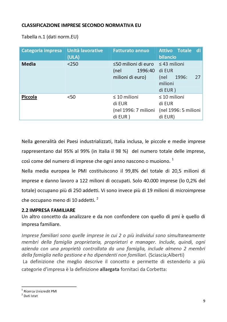 Anteprima della tesi: Le PMI locali e il mercato della distribuzione. Il caso Effemarket, Pagina 5