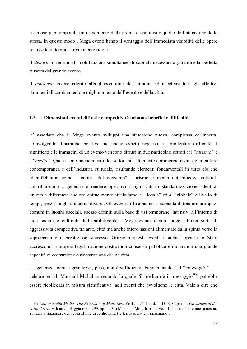 Estratto dalla tesi: Mega eventi e grandi città: il Fuorisalone nel quartiere Tortona