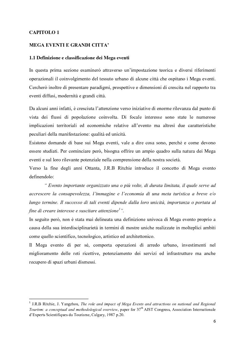 Anteprima della tesi: Mega eventi e grandi città: il Fuorisalone nel quartiere Tortona, Pagina 4