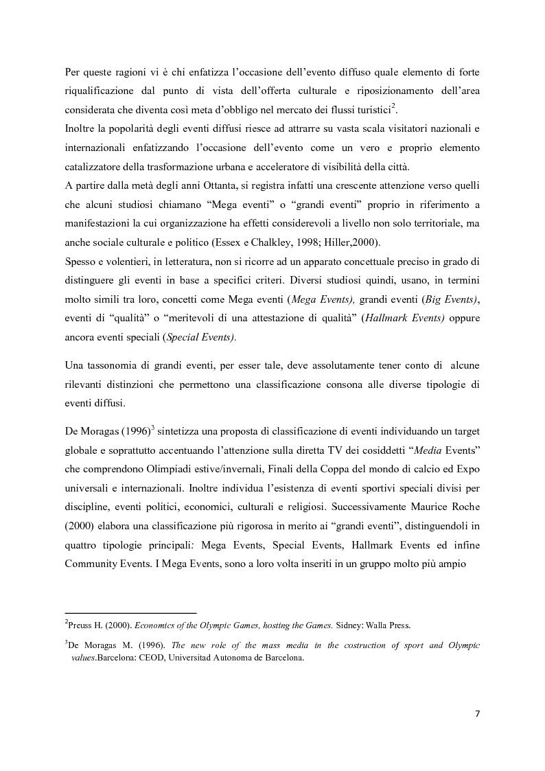 Anteprima della tesi: Mega eventi e grandi città: il Fuorisalone nel quartiere Tortona, Pagina 5