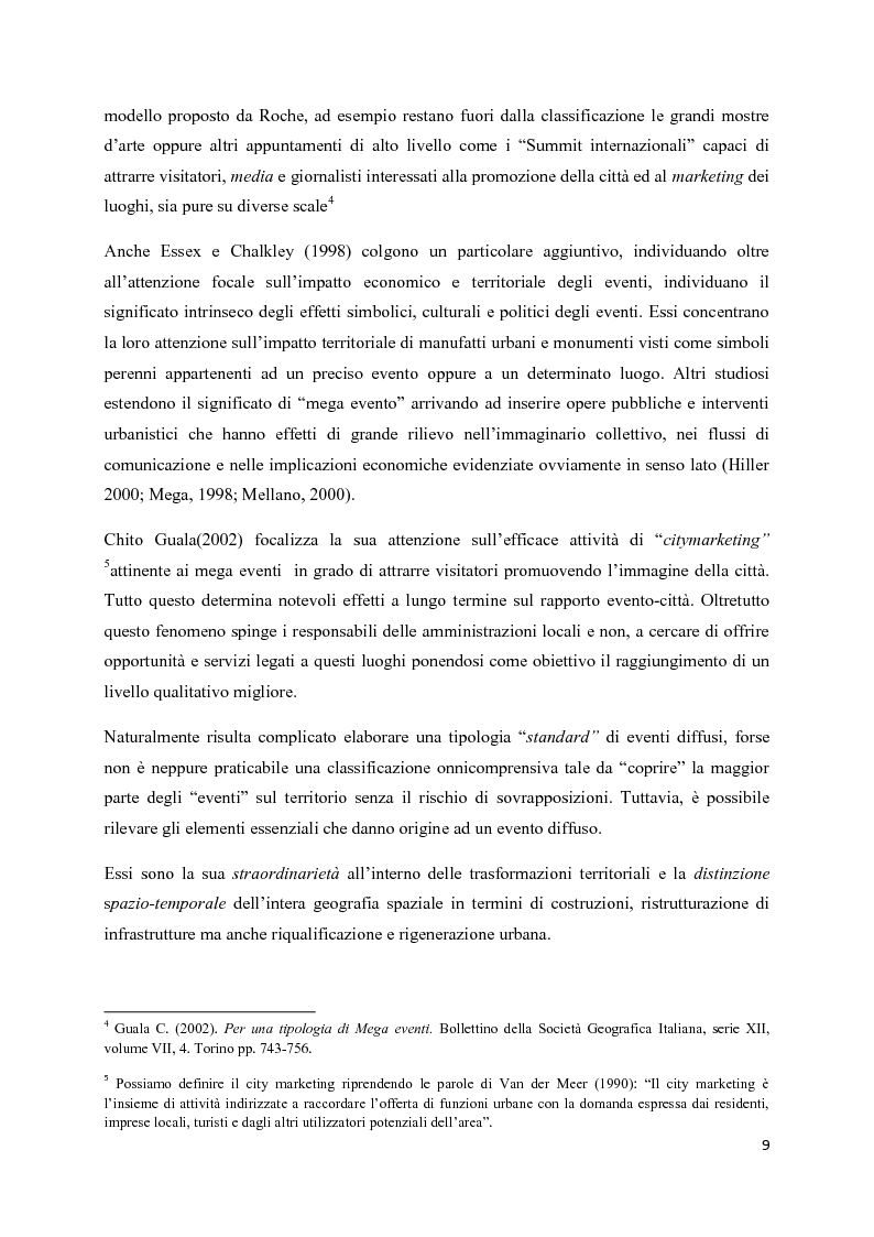 Anteprima della tesi: Mega eventi e grandi città: il Fuorisalone nel quartiere Tortona, Pagina 7