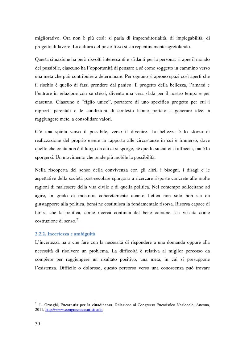 Anteprima della tesi: Gli effetti alienanti della precarietà: l'incidenza psicologica del lavoro precario, Pagina 3
