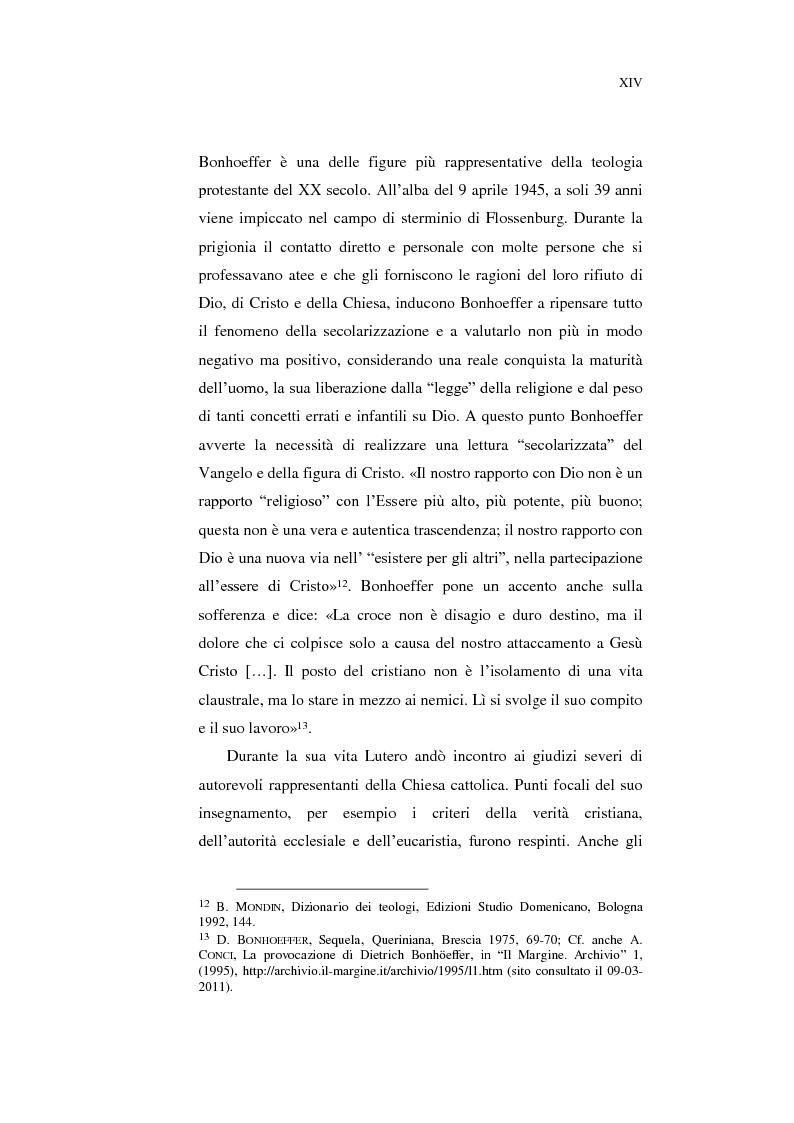 Anteprima della tesi: Aspetti della spiritualità di Martin Lutero nella logica della Theologia Crucis, Pagina 11