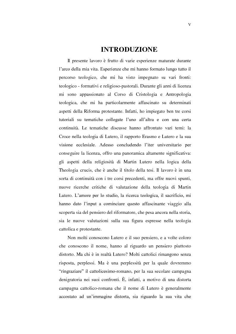 Anteprima della tesi: Aspetti della spiritualità di Martin Lutero nella logica della Theologia Crucis, Pagina 2