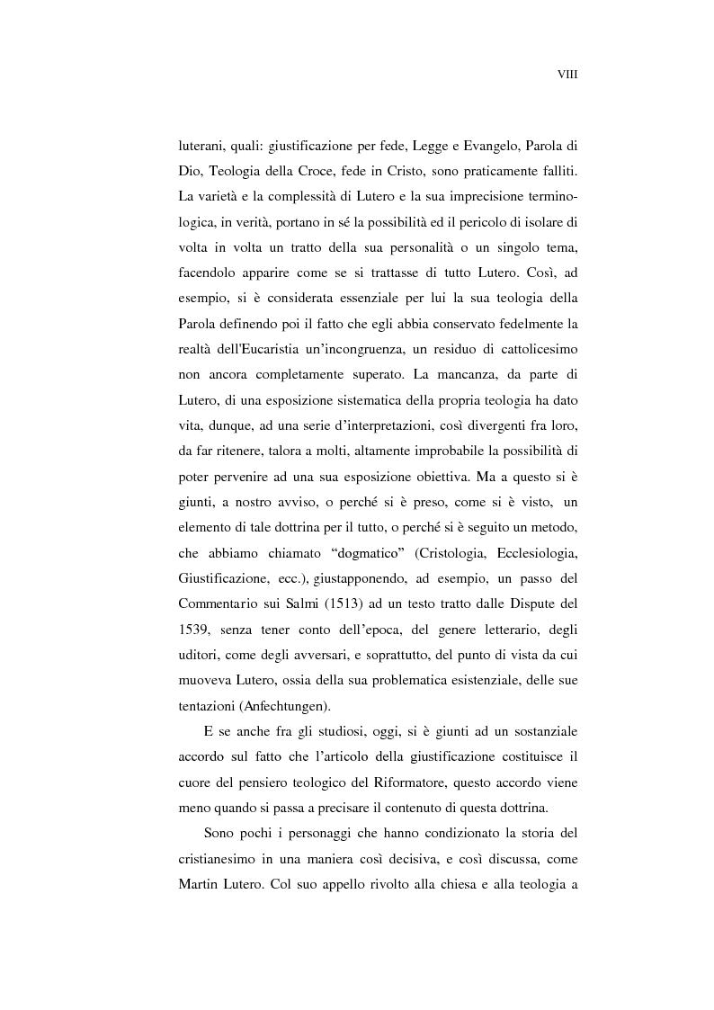 Anteprima della tesi: Aspetti della spiritualità di Martin Lutero nella logica della Theologia Crucis, Pagina 5
