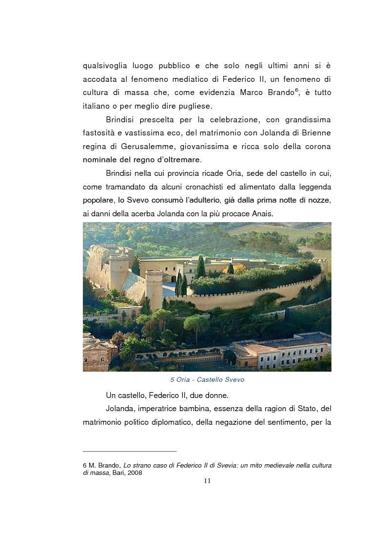 Anteprima della tesi: Federico II e le donne: il silenzio delle fonti e la storiografia, Pagina 9