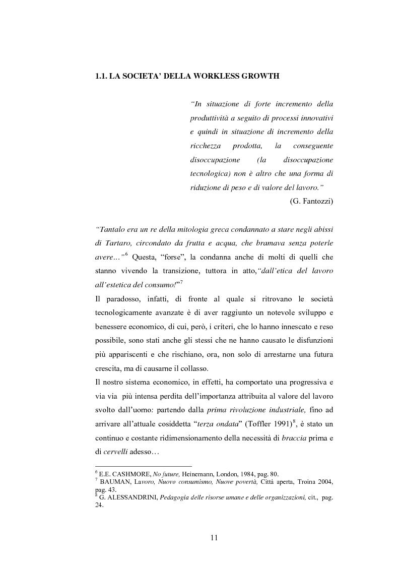 Anteprima della tesi: L'adulto e il lavoro, Pagina 10