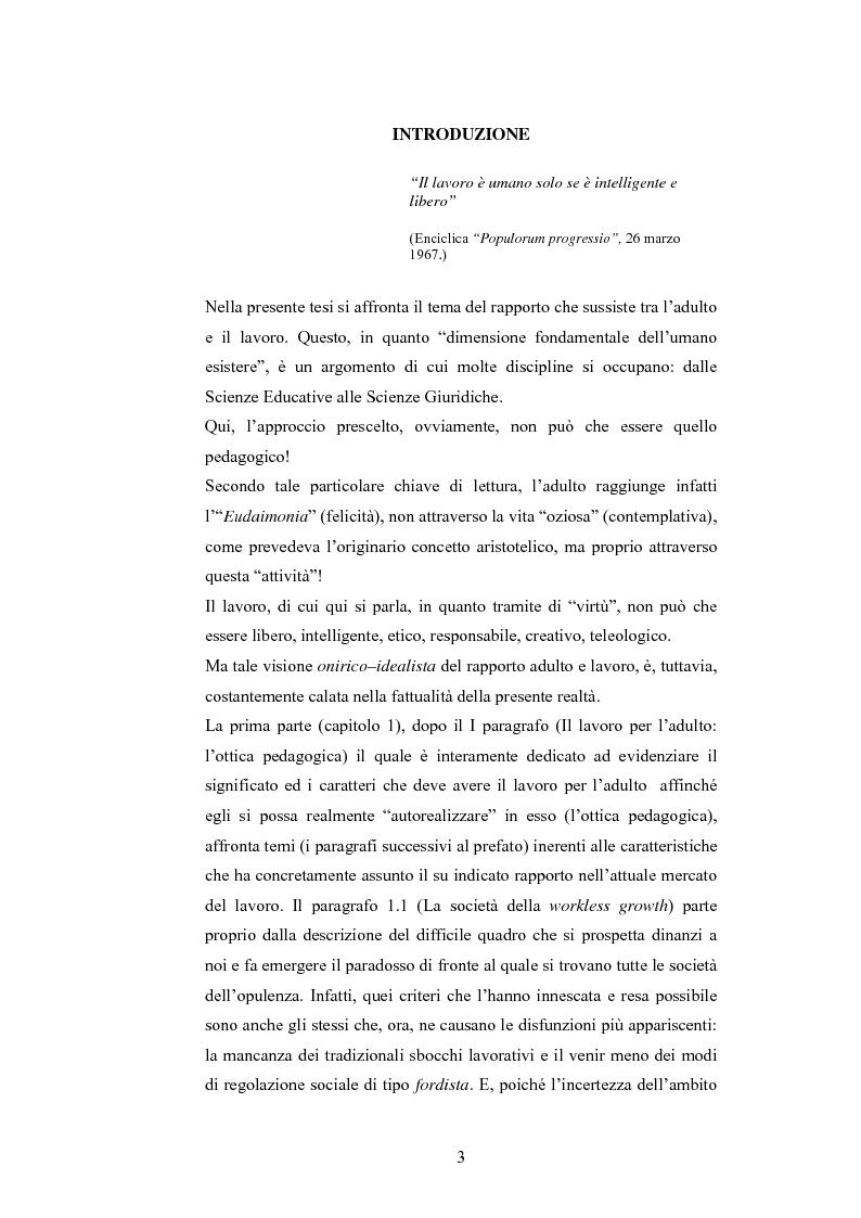 Anteprima della tesi: L'adulto e il lavoro, Pagina 2