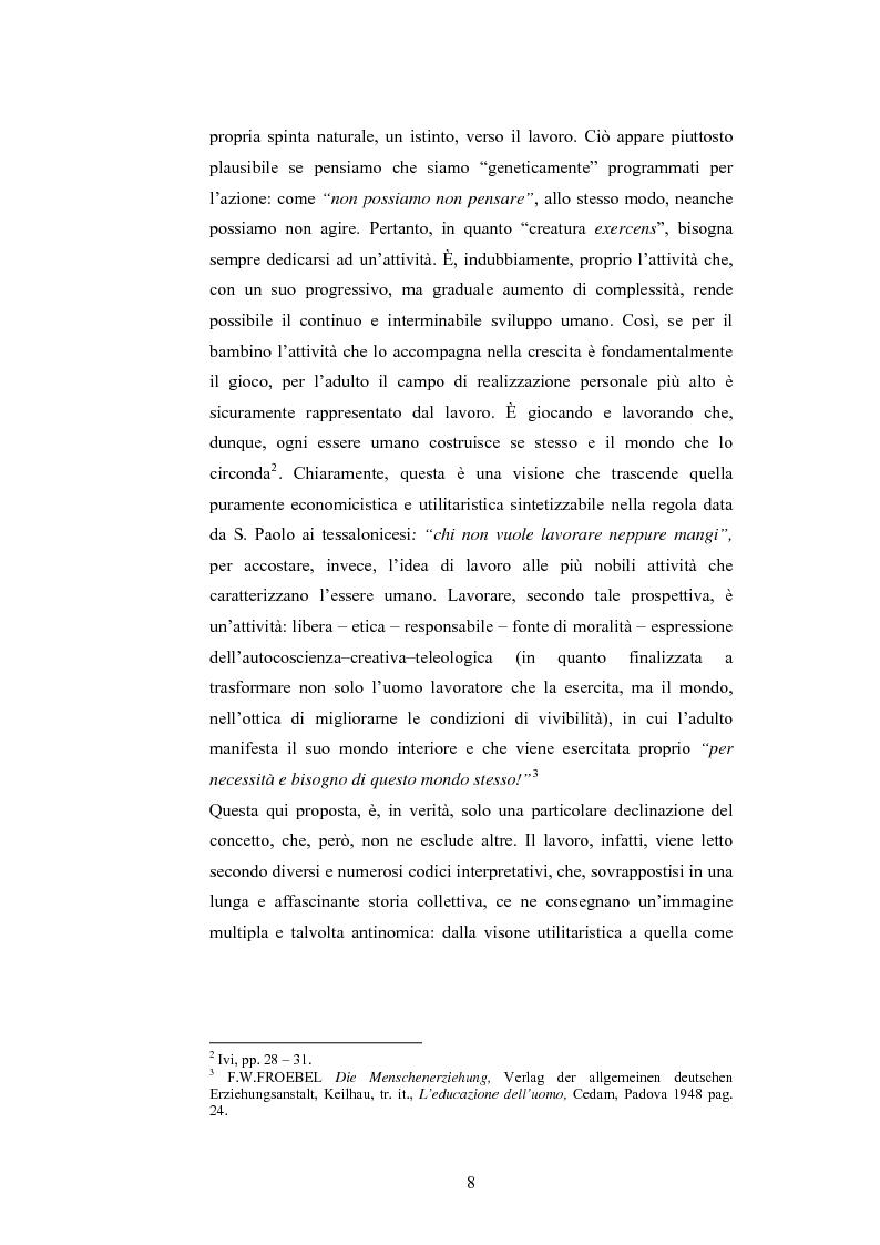 Anteprima della tesi: L'adulto e il lavoro, Pagina 7