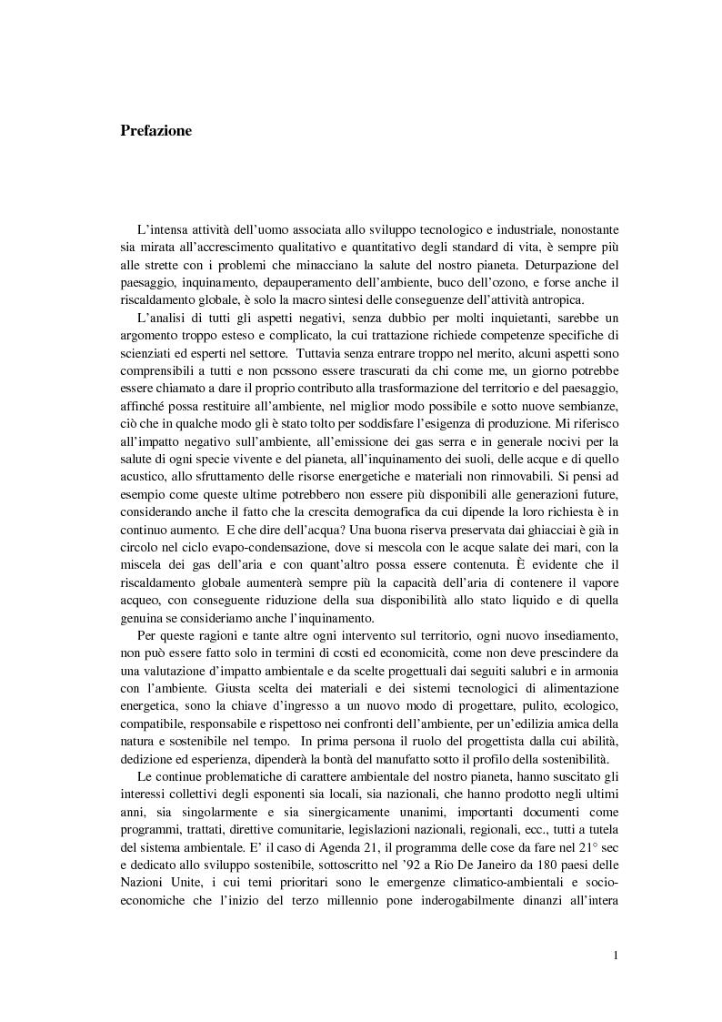 Anteprima della tesi: CASA SA RUXI - Abitazione sostenibile in zona a clima mediterraneo, Pagina 2