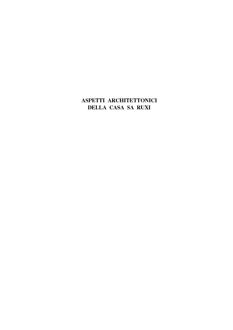 Anteprima della tesi: CASA SA RUXI - Abitazione sostenibile in zona a clima mediterraneo, Pagina 4