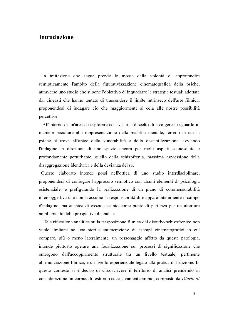 Anteprima della tesi: Psicosi con-divisa: la soggettivazione filmica della schizofrenia, Pagina 2