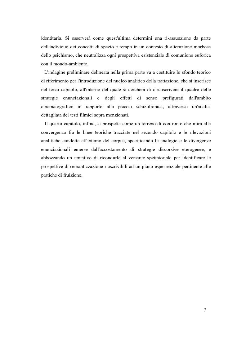 Anteprima della tesi: Psicosi con-divisa: la soggettivazione filmica della schizofrenia, Pagina 4