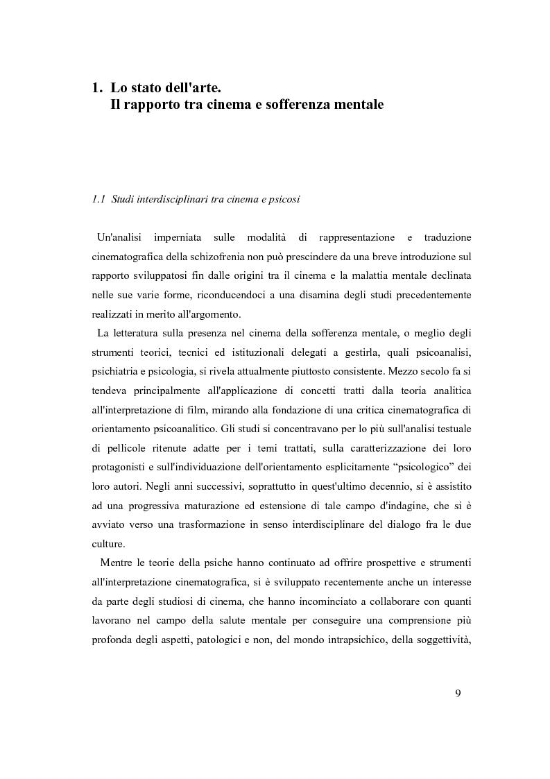 Anteprima della tesi: Psicosi con-divisa: la soggettivazione filmica della schizofrenia, Pagina 5
