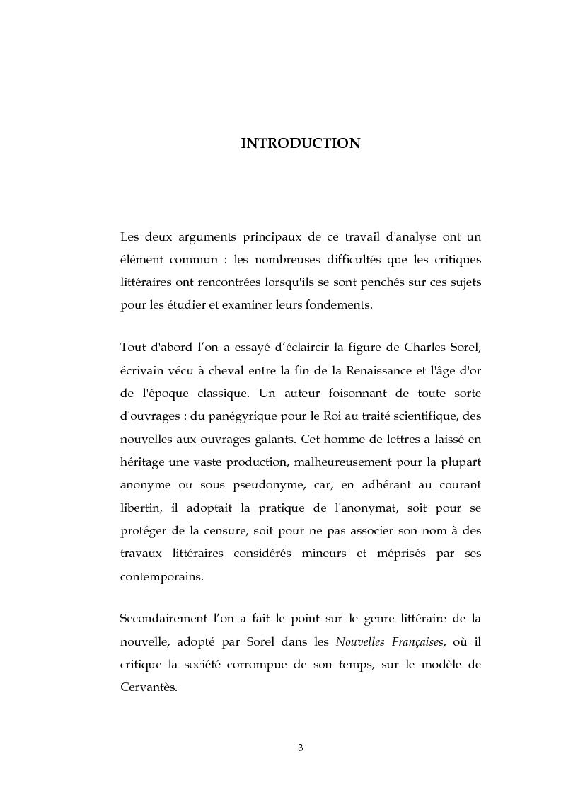 Anteprima della tesi: L'esthétique des Nouvelles Françaises de Charles Sorel, Pagina 2