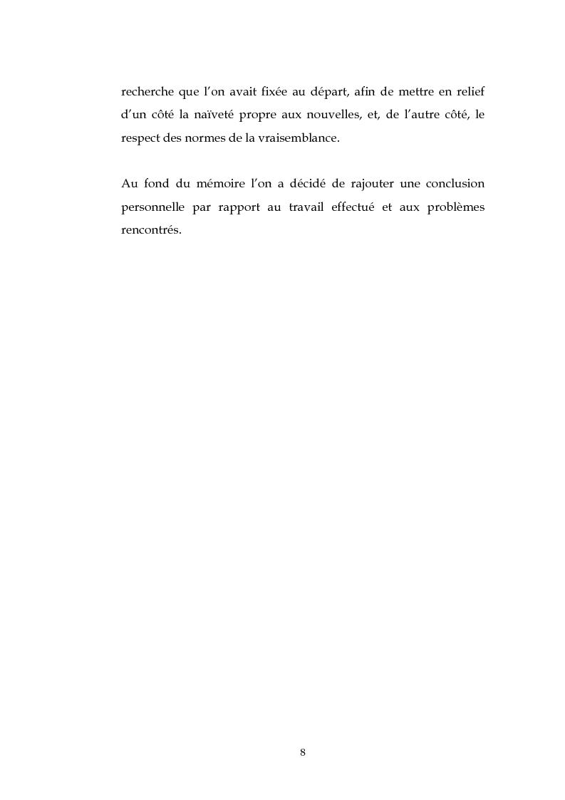 Anteprima della tesi: L'esthétique des Nouvelles Françaises de Charles Sorel, Pagina 7