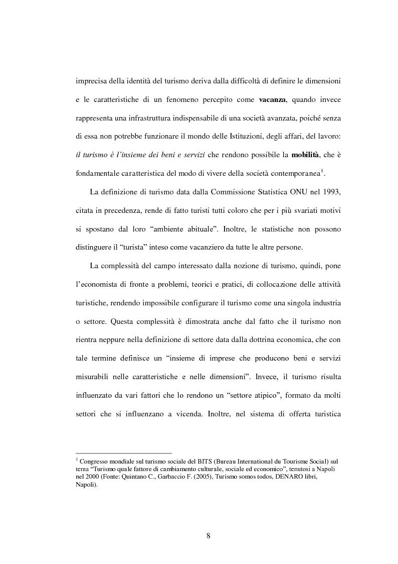 Anteprima della tesi: Problematiche di governo e di gestione delle imprese termali: il caso Ischia, Pagina 6