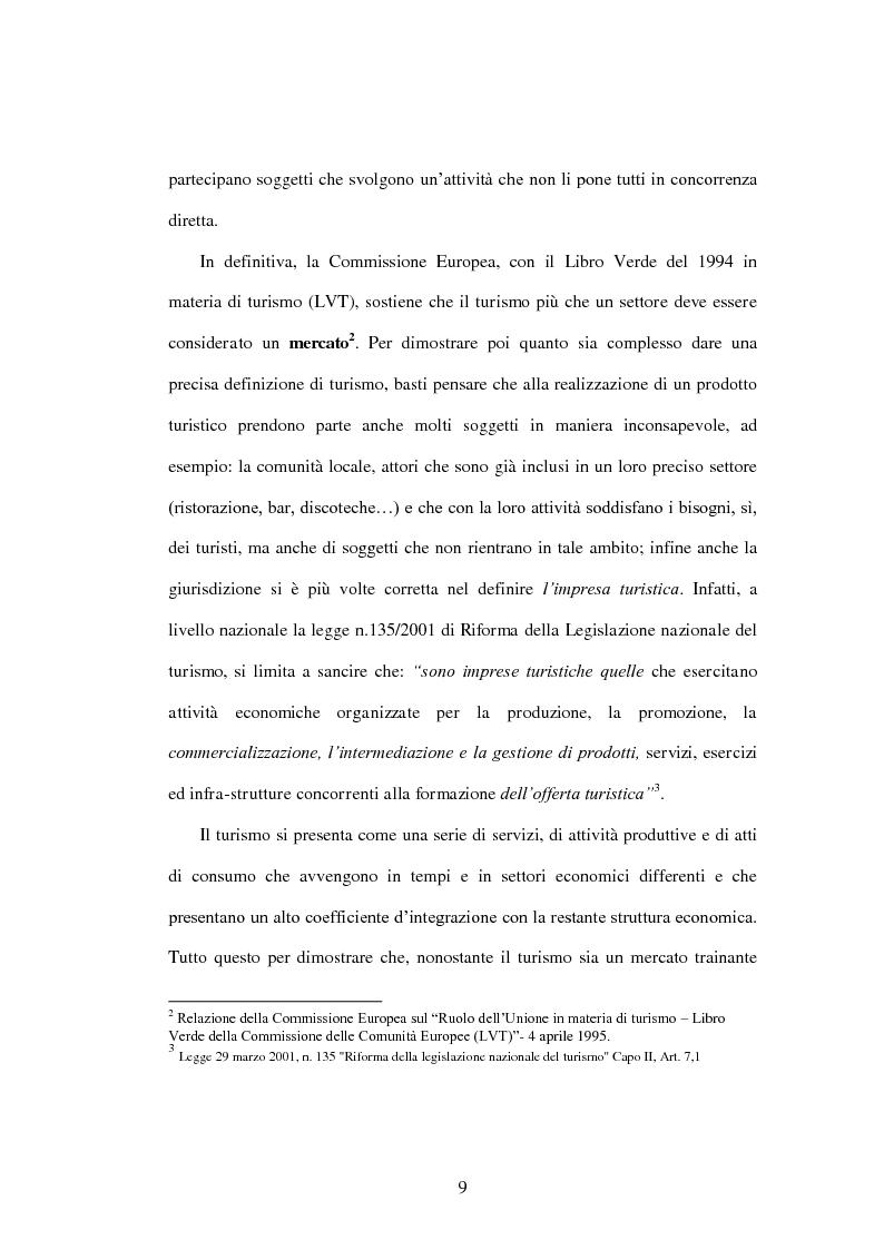 Anteprima della tesi: Problematiche di governo e di gestione delle imprese termali: il caso Ischia, Pagina 7