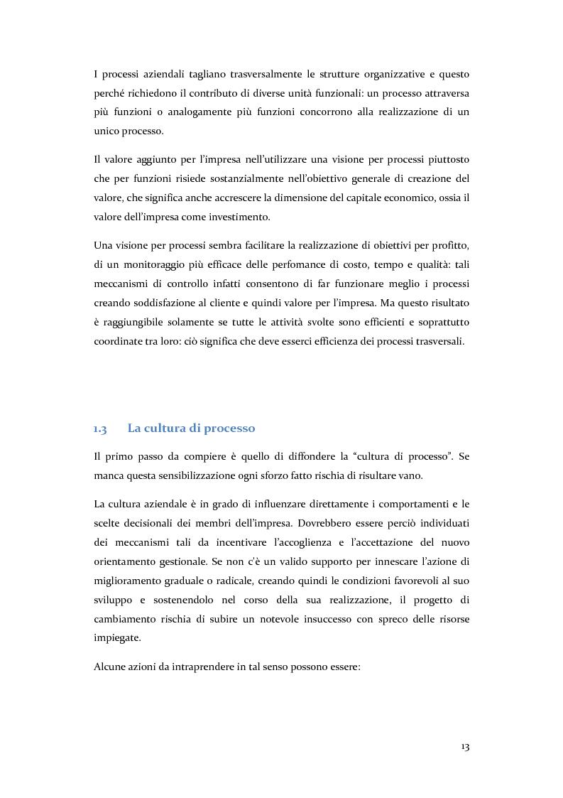 Anteprima della tesi: Definizione, ottimizzazione e monitoraggio dei processi aziendali con ARIS Business Process Management, Pagina 8