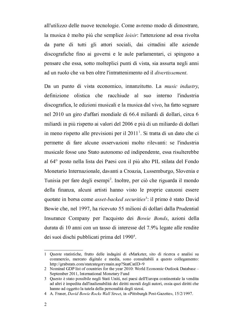 Anteprima della tesi: Il diritto d'autore nella società globalizzata: tra equo compenso, DRM e file sharing, Pagina 3