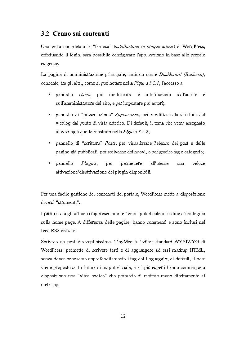 Anteprima della tesi: Realizzazione di un template multilingua per la piattaforma WordPress, Pagina 10