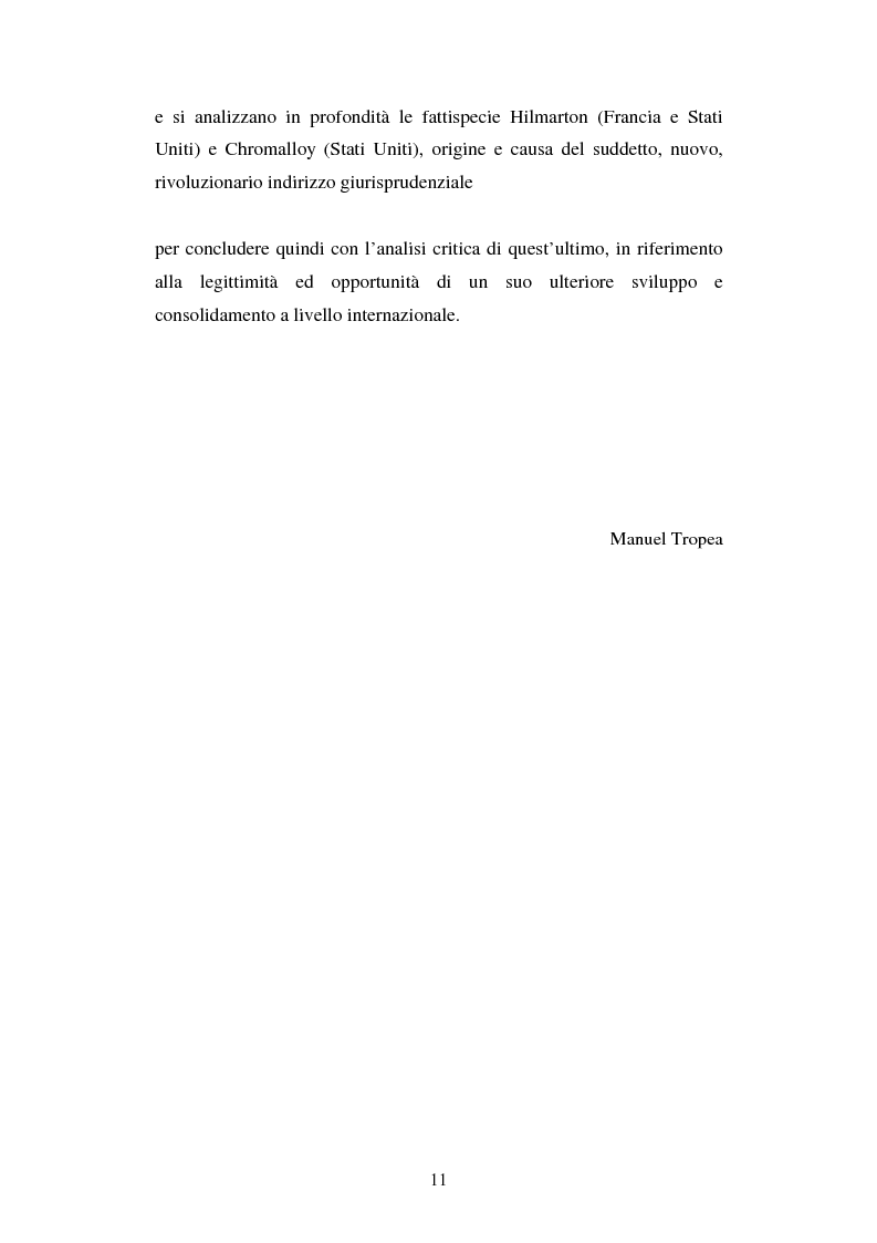 Anteprima della tesi: L'arbitrato commerciale internazionale. Il riconoscimento del lodo annullato nel paese d'origine ex articoli v(1)(e) e vII convenzione di New York del 1958, Pagina 4