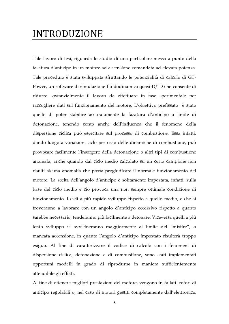 Anteprima della tesi: Scelta ottimale dell'angolo di anticipo all'accensione per un motore ad elevate prestazioni, Pagina 2