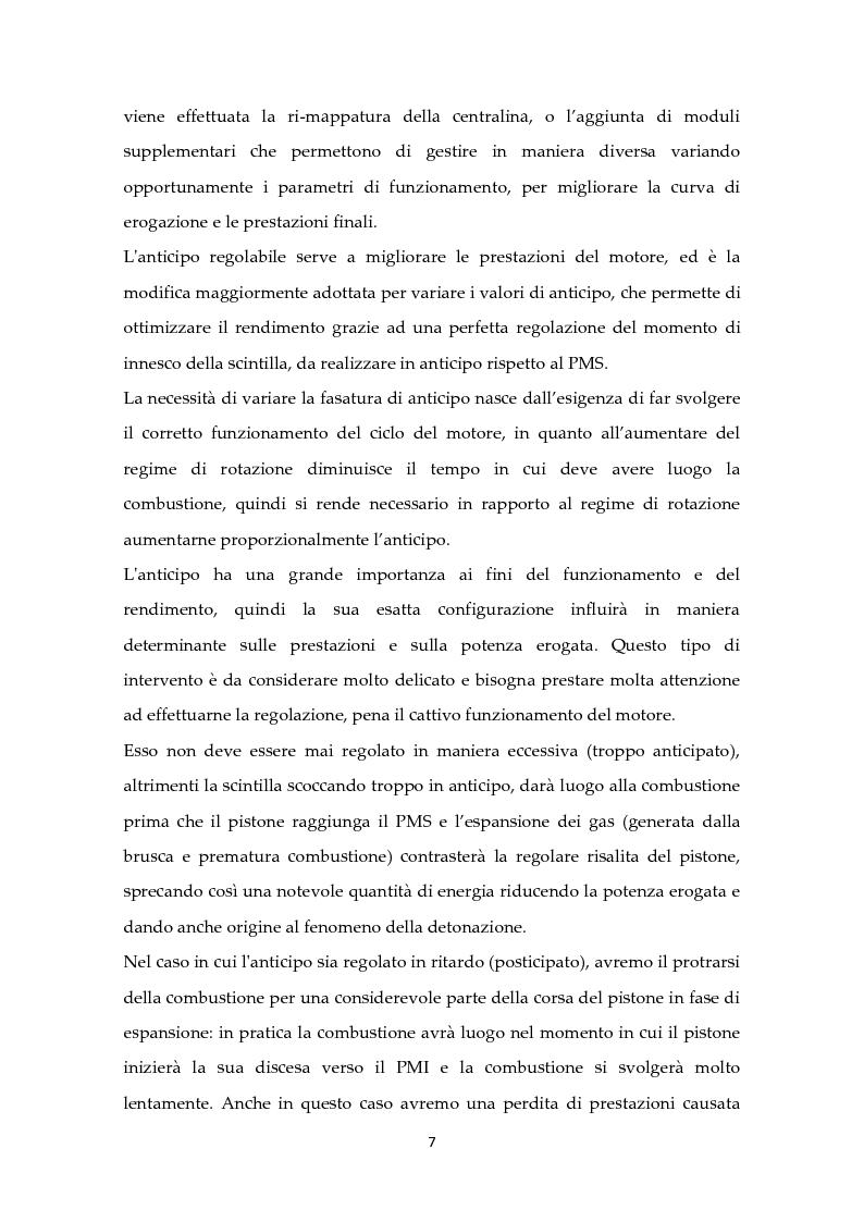Anteprima della tesi: Scelta ottimale dell'angolo di anticipo all'accensione per un motore ad elevate prestazioni, Pagina 3