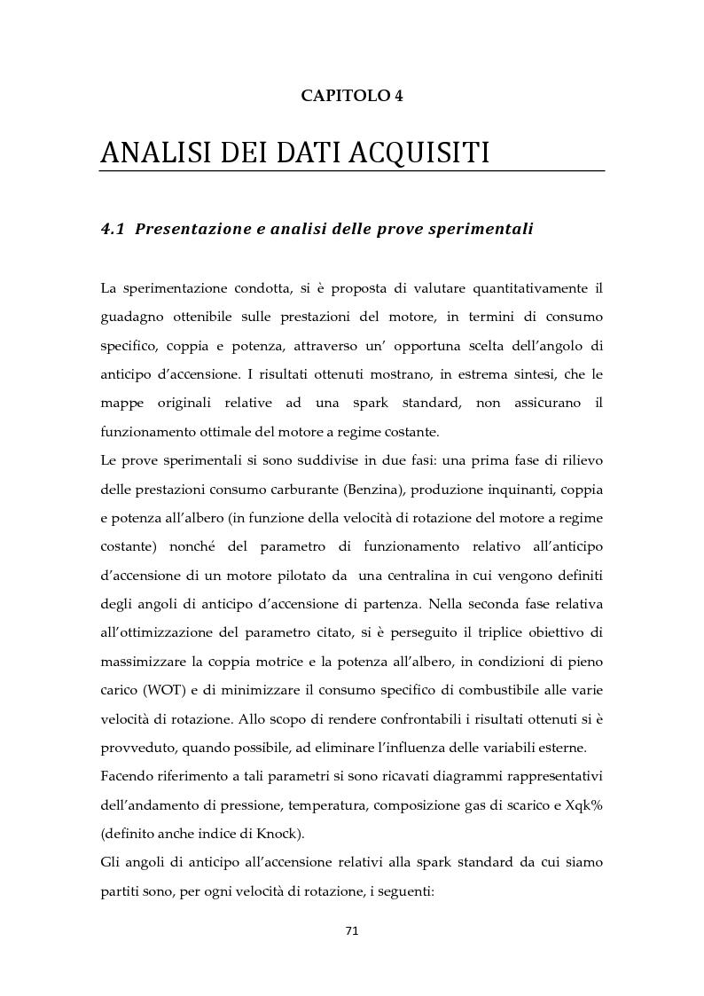 Anteprima della tesi: Scelta ottimale dell'angolo di anticipo all'accensione per un motore ad elevate prestazioni, Pagina 5