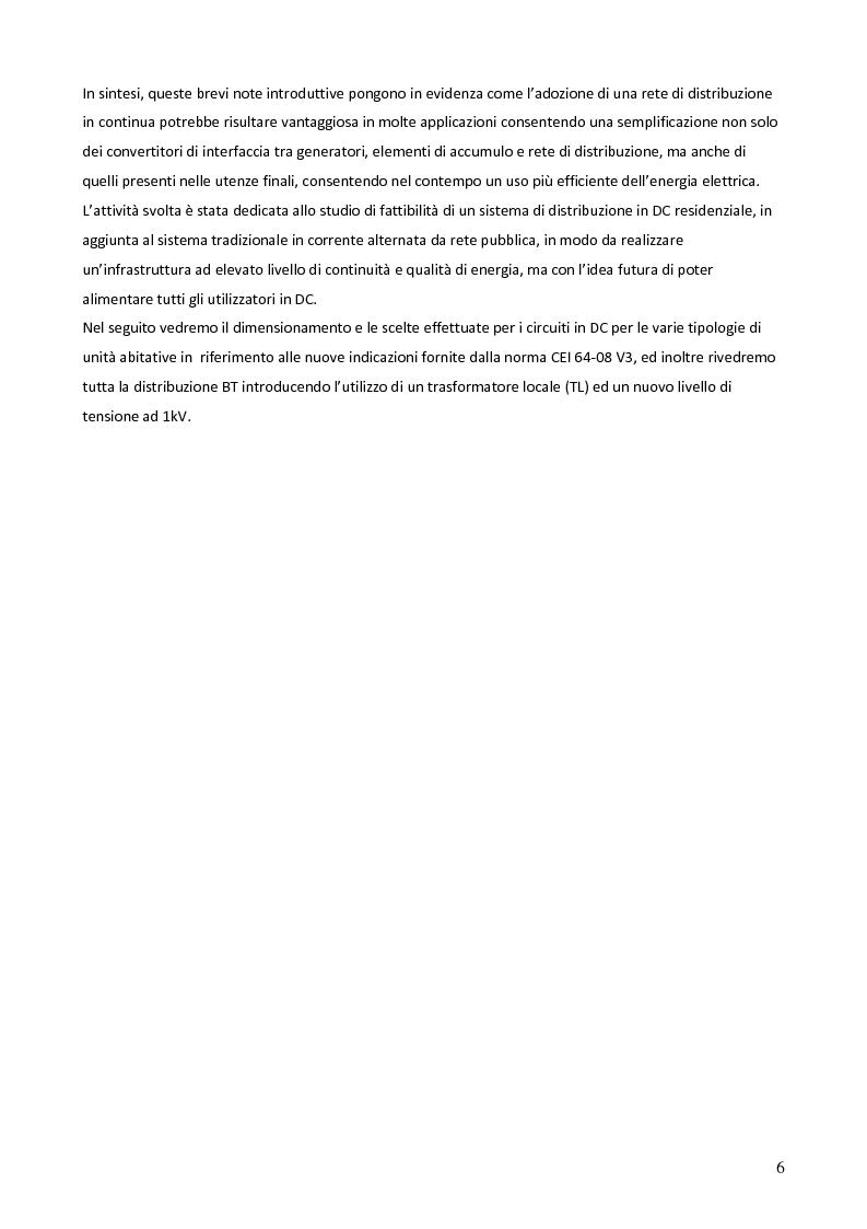 Anteprima della tesi: Sistemi in corrente continua (DC) per la razionalizzazione energetica. Studio di fattibilità per un sistema integrato di distribuzione DC ad uso residenziale (Microgrid House DC), Pagina 7